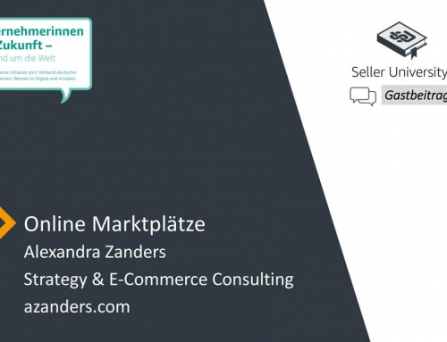 Online Marktplätze by Amazon Seller University
